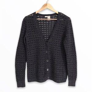 DKNY   Loose Knit Cardigan Sweater   M/L